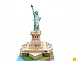 3D Building Puzzle Statue of Liberty (568-B)