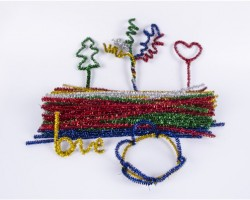 Chenille Stems Assorted shining Colors