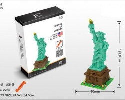 Mini Block--Statue of Liberty (2285)