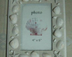 A112 Natural Shell Wooden Photo Frame