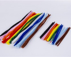 Chenille Stem Assorted Colors