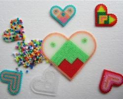FUSE BEADS HEART SERIES