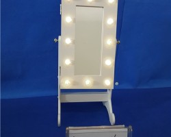 YK18A8016  Ornaments Storage box LED Dressing  Mirror