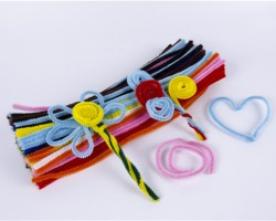 Chenille Stems Assorted Color