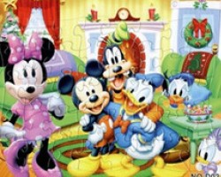 Colorized Paper Puzzle of Cartoon Mouse (YM002)