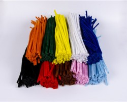 Chenille Stems Assorted Colors