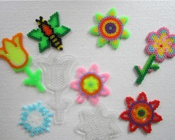FUSE BEADS FLOWER SERIES