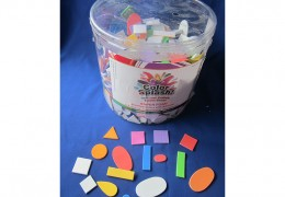 Foam Shps with Adhesive Foam Toys AC748